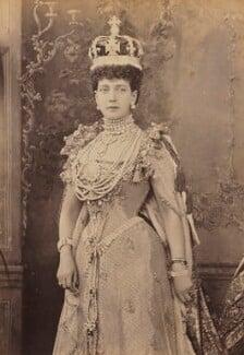 Queen Alexandra, by W. & D. Downey, 9 August 1902 - NPG P1700(61a) - © National Portrait Gallery, London