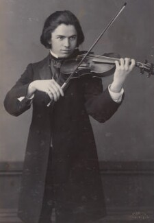 Jan Kubelik, by Alexander Bassano - NPG P1700(65c)
