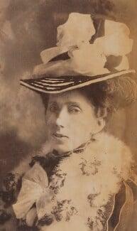 Mary Cholmondeley, by Elliott & Fry - NPG P1700(66e)