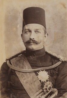 Abbas II, by Unknown photographer, 1903 or before - NPG P1700(68a) - © National Portrait Gallery, London