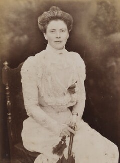 Mary Endicott Carnegie (née Endicott) (formerly Chamberlain), by Unknown photographer - NPG P1700(69a)