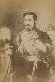 Meiji, Emperor of Japan, after Edoardo Chiossone - NPG P1700(71a)