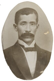 Jutaro Komura, by Unknown photographer - NPG P1700(77b)