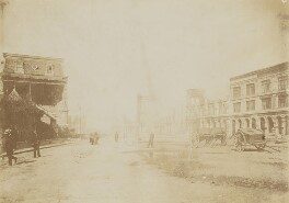 'Earthquake in Chile - Estacion Bellavista at Santiago', by Unknown photographer - NPG P1700(79a)
