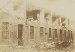 'Earthquake in Chile - Calle Salvador Donoso, Santiago', by Unknown photographer - NPG P1700(79b)