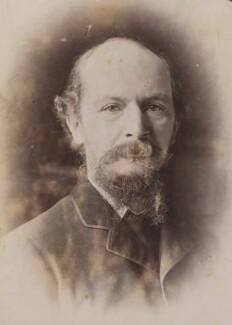 Algernon Charles Swinburne, by John McLanachan, for  Elliott & Fry - NPG P1700(84b)