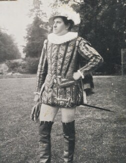 H. Brown as Ambrose Dudley, 3rd Earl of Warwick at the Warwick Pageant, by Unknown photographer - NPG P1700(85d)