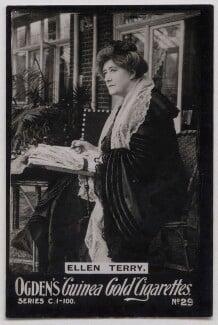 Ellen Terry, published by Ogden's - NPG x137471