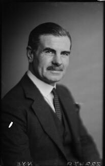 Sir Archibald Edward Nye, by Walter Stoneman - NPG x187813