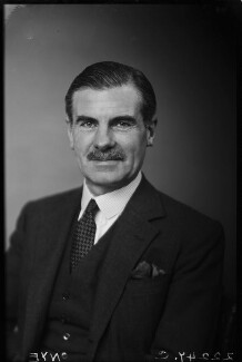 Sir Archibald Edward Nye, by Walter Stoneman - NPG x187815