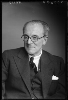 Sir Gerald Kelly, by Walter Stoneman - NPG x187847