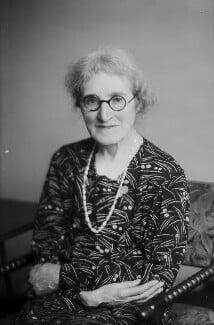 Agnes Arber (née Robertson), by Walter Stoneman - NPG x187890
