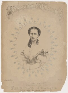 Queen Alexandra, published by Foster & King, after  Georg Emil Hansen - NPG D42763