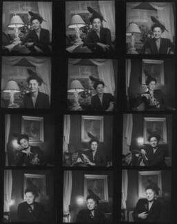 Lida Ascher, by Francis Goodman - NPG x195115