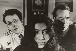 Anthony ('Tony') Cox; Yoko Ono; Victor Musgrave, by Unknown photographer - NPG x137500