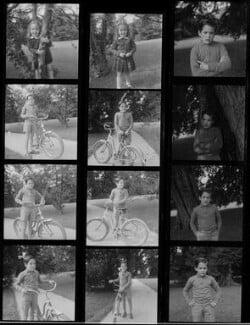 Victoria Chaplin; Michael Chaplin, by Francis Goodman - NPG x195187