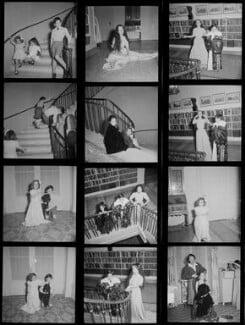 Michael Chaplin; Geraldine Chaplin; Josephine Chaplin; Victoria Chaplin; Chaplins' maid, by Francis Goodman - NPG x195189