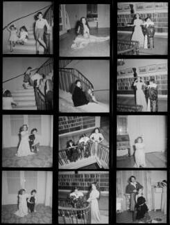 Michael John Chaplin; Geraldine Leigh Chaplin; Josephine Hannah ('Josie') Chaplin; Victoria Chaplin; Chaplins' maid, by Francis Goodman - NPG x195189