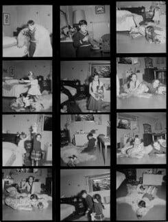 Michael Chaplin; Geraldine Chaplin; Josephine Chaplin; Victoria Chaplin, by Francis Goodman - NPG x195190