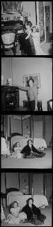 Josephine Chaplin; Victoria Chaplin; Oona O'Neill, by Francis Goodman - NPG x195192