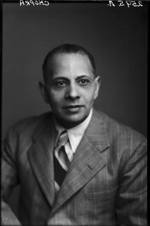 Iqbal Chand Chopra, by Walter Stoneman - NPG x188567