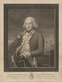 Sir Thomas Musgrave, 7th Bt, by Georg Siegmund Facius, after  Lemuel Francis Abbott - NPG D42730