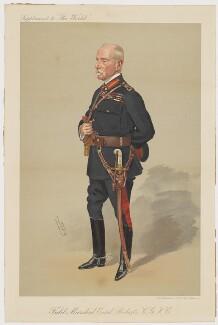 Frederick Sleigh Roberts, 1st Earl Roberts, by Sir Leslie Ward, printed by  Gilbert Whitehead & Co Ltd - NPG D42728