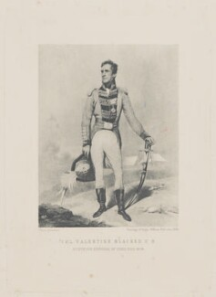 Valentine Blacker, published by Survey of India Offices, after  Unknown artist - NPG D42729