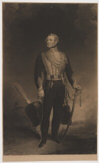 Benjamin Bloomfield, 1st Baron Bloomfield, by Edward McInnes, published by  Edward Puckle, after  John Lilley - NPG D42731