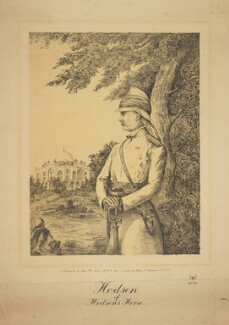 William Stephen Raikes Hodson, by Major W. Smith, after  Edward Mary Joseph Molyneux - NPG D42737