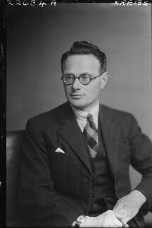 Sir Hans Adolf Krebs, by Walter Stoneman - NPG x188728