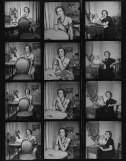 Gaby Schreiber, by Francis Goodman - NPG x195390