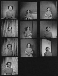 Isobel Bertha Strachey (née Leslie), by Francis Goodman - NPG x195405