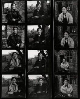 Susan Charlotte (née Grosvenor), Baroness Tweedsmuir, by Francis Goodman - NPG x195421