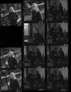 Hon. Perdita Caroline Connolly (née Buchan); William de l'Aigle Buchan, 3rd Baron Tweedsmuir, by Francis Goodman, November 1965 - NPG x195428 - © National Portrait Gallery, London