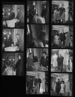 James Bailey; Pierre Balmain, by Francis Goodman - NPG x195439