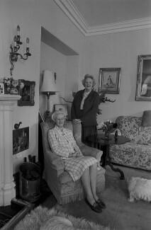 Dame Jean Mary Monica Maxwell-Scott; Patricia Maxwell-Scott, by Bob Collins - NPG x137516