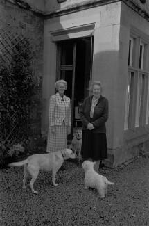 Dame Jean Mary Monica Maxwell-Scott; Patricia Maxwell-Scott, by Bob Collins - NPG x137517