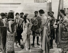 Vivien Leigh in 'Caesar and Cleopatra', by Wilfrid Newton - NPG x137523