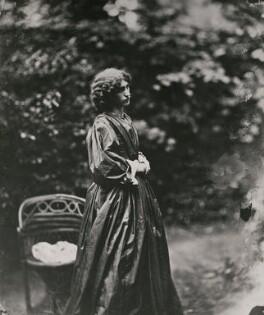 Jane Morris (née Burden), by John Robert Parsons, copied by  Emery Walker Ltd, July 1865 - NPG x137526 - © National Portrait Gallery, London