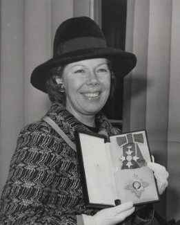 Janet Baker, by Press Association Photos - NPG x184160