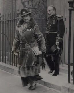 Lucy (née Ridsdale), Countess Baldwin; Stanley Baldwin, 1st Earl Baldwin, by Fox Photos Ltd - NPG x184166