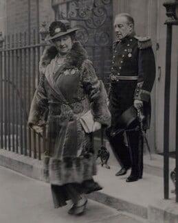 Lucy (née Ridsdale), Countess Baldwin; Stanley Baldwin, by Fox Photos Ltd - NPG x184166