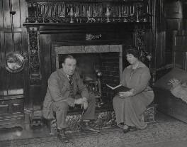 Stanley Baldwin, 1st Earl Baldwin; Lucy (née Ridsdale), Countess Baldwin, by Alfieri Picture Service - NPG x184167