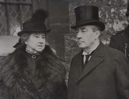 Lucy (née Ridsdale), Countess Baldwin; Stanley Baldwin, 1st Earl Baldwin, by Associated Press - NPG x184168