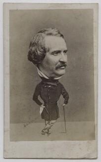 Walter Lacy (Walter Williams), by (George) Herbert Watkins, 1850s - NPG x137553 - © National Portrait Gallery, London