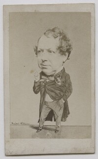 John Baldwin Buckstone, by (George) Herbert Watkins, late 1850s - NPG x137554 - © National Portrait Gallery, London