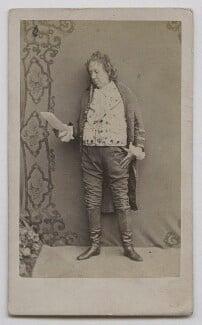 John Baldwin Buckstone, by Herbert Watkins - NPG x137555
