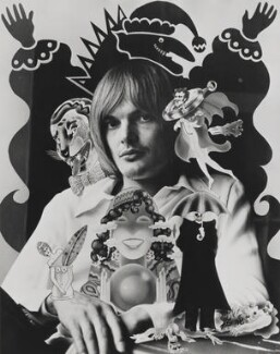 Alan Aldridge, by Lord Snowdon - NPG P1843