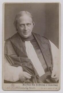 Edward White Benson, by Alexander Bassano - NPG x137563